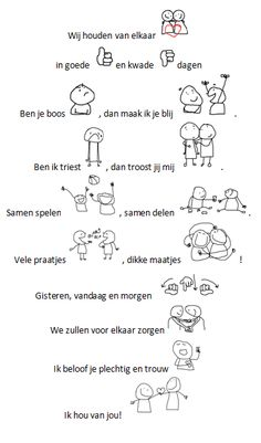 Trouwbelofte vriendschap - thema valentijn / ik hou van jou Words Quotes, Wise Words, Sayings, Learn Dutch, Dutch Quotes, Short Poems, Perfection Quotes, Fathers Day Crafts, Happy B Day