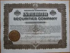 1909 Stock Certificate: 'Inland Copper Mining' - Prescott, AZ Arizona