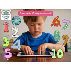 Little Digits app uses all 10 fingers for learning about numbers and counting
