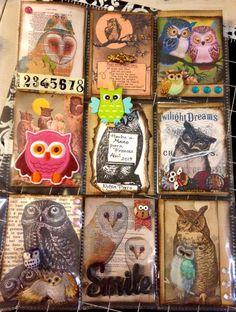 pocket letter owls by Nylsa Porro en FB