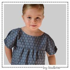patron de couture robe tunique enfant jasmin lou & me