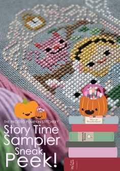 Image of 2015 Story Time Sampler PDF Cross Stitch Pattern