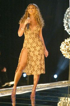 Pin for Later: 150+ Supersexy Moments to Get You Excited For the VS Fashion Show  Beyoncé did her thing while performing with Destiny's Child in 2002.