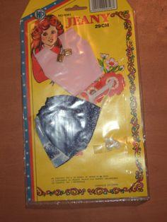 Vintage 80's Barbie Sindy Bibi Bo HP Clothes Pink Blouse Dress | eBay
