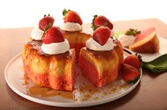 Strawberry Flan Cake recipe with COOL WHIP