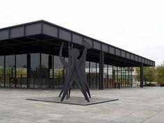 Neue Nationalgalerie, Berlin Neue Nationalgalerie, Berlin (1965-68) Architect Ludwig Mies van der Rohe