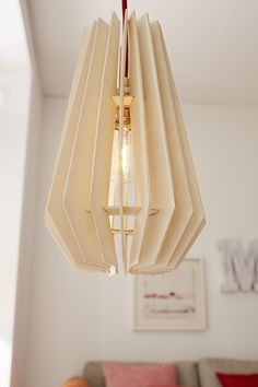 Une lampe design fabrication maison !
