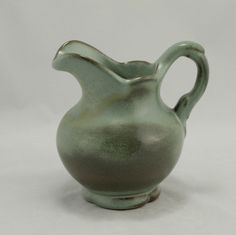 Frankoma Pottery Sage Green Pitcher F30A Vtg.
