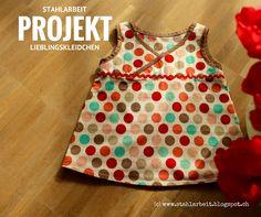 Erbsenprinzessin Lieblingskleidchen, Stoff von Adornit.
