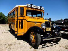 1934 Ford School Bus by brad.schram, via Flickr