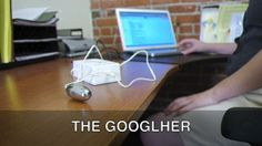 The Googlher by Randy Sarafan. The Googlher is a device which turns Google's pervasive reach into pleasurable vibrations.