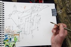 charles reid | Charles Reid's English Watercolour Sketchbook