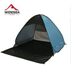81edf3989 Widesea pop up tenda della spiaggia aperto 2-3 persona sunshelter mash up  colore UV