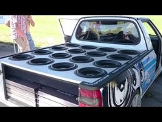 17840W GLADEN Speaker Setup in Škoda Pick-up - Tronnixx in Stock - http://www.amazon.com/dp/B015MQEF2K - http://audio.tronnixx.com/uncategorized/17840w-gladen-speaker-setup-in-skoda-pick-up/