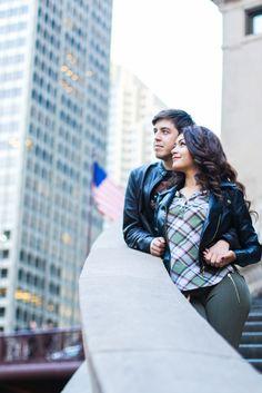 Couple, shoot, photo, portrait, stairs, Chicago, riverwalk, idea, photo idea, love, downtown