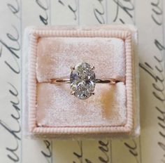 How Are Vintage Diamond Engagement Rings Not The Same As Modern Rings? If you're deciding from a vintage or modern diamond engagement ring, there's a great deal to consider. Rose Gold Engagement, Vintage Engagement Rings, Wedding Engagement, Wedding Bands, Engagement Bands, Oval Shaped Engagement Rings, Oval Solitaire Engagement Ring, Timeless Engagement Ring, Dream Wedding
