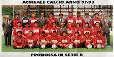 Acireale Calcio anno '92-'93 promossa in serie B