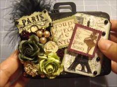 WOC DT July Challenge - Paris Suitcase - YouTube