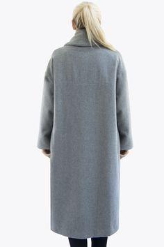 Aurora, Turtle Neck, Grey, Coat, Sweaters, Studio, Fashion, Gray, Moda