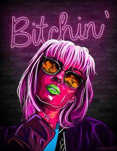 Arte Dope, Hipster Drawings, Mickey Mouse, Pop Art Wallpaper, Trippy Painting, Dope Cartoon Art, Art Painting Gallery, Arte Cyberpunk, Pop Art Girl