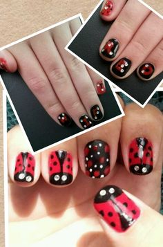 Taylor Swift Red concert nails