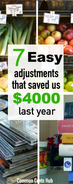 It can be frustrating to think you don't have the money to save or invest. But here are 7 simple ways we were able to save over $4000 last year. #savemoney. Saving | Save money | cut expenses | live frugal | reduce bills.