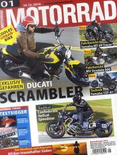Die neue MOTORRAD am 5. Januar 2015