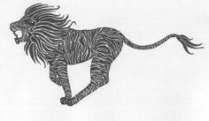 Tribal Lion Tattoo, everything about tribal tattoos Tribal Lion Tattoo, Ink, Animals, Animales, Animaux, Animal, India Ink, Animais