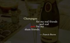#Champagne #realPain #quote