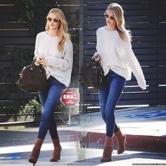 Rosie Huntington-Whiteley street style.