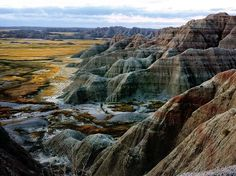 The Badlands of South Dakota may not be your first choice when it comes to camping in a national park, but its two campgrounds (Cedar Pass and Sage Creek) are open year-round, offering regular access to the largest stretch of prairie wilderness in the country—home to roaming bison and sheep—and one of the most spectacular night skies you may ever see. Pro tip: Visit July 17–19 for the annual Badlands Astronomy Festival. —L.D.R.