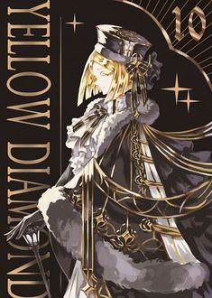 Yellow Diamond - Houseki no Kuni - Image - Zerochan Anime Image Board Manga Anime, Anime Art, Anime Version, Beautiful Anime Girl, Animes Wallpapers, Magical Girl, Anime Style, Vocaloid, Art Girl
