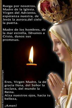 Catholic Prayers In Spanish, Jesus Christ Images, Overcome The World, Catholic Religion, Holy Rosary, Pray For Us, Blessed Virgin Mary, God, Faith