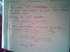 Maths: Calculating arithmetic mean (solved question)