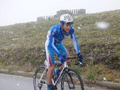 Cycling, Sport, Cyclist, Road, Snow, Vuelta, Asturias