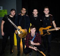 Shawn and his band
