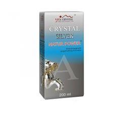 Crystal Silver Natur Power – 200 ml –  Colloidal silver - Vita crystal