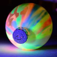 Glow in the Dark Ornaments - cool looking!