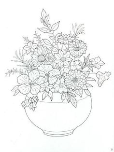 Flowers Coloring Page 32 Is A From FlowersLet Your Children Express Their Imagination When They Color The Will