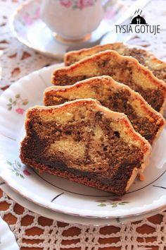 Babka caffe latte | Tysia Gotuje blog kulinarny Sweet Recipes, Banana Bread, Cookies, Blog, Biscuits, Cookie Recipes, Cake, Cookie, Fortune Cookie