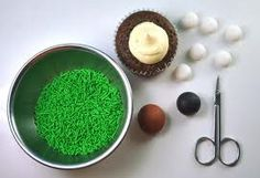 how to make fondant grass - Google Search