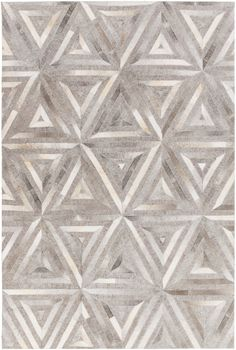 Surya Medora MOD1012 Brown/White Hides and Leather Area Rug