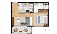 Apartamento de 39 m² com piscina em Pinheiros, São Paulo - ZAP IMÓVEIS
