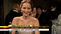 Jennifer Lawrence might have the best humor in the world, and this epic collection of the funniest Jennifer Lawrence moments in GIFs and photos proves it! Jack Nicholson Gif, Jennifer Lawrence Style, Good People, Amazing People, People Of Interest, Hunger Games Trilogy, Meryl Streep, Geek Out, In Hollywood