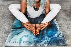 In the market for a new yoga mat? Check our Sally Mustang's new eco-friendly collection.