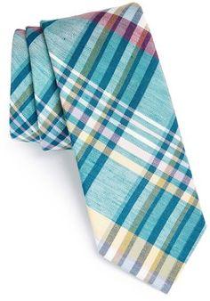 1901 Woven Linen & Silk Tie on shopstyle.com