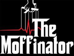 The Moffinator T-Shirt Designed by favoritedarkness