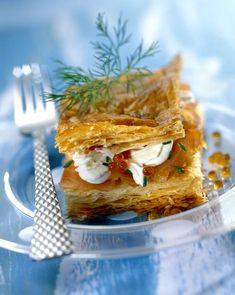 Feuilleté au saumon - Cuisine - Plurielles.fr