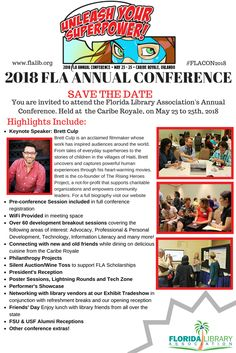 FLA 2018 Conference is right around the corner! #SavetheDate #FLACON2018