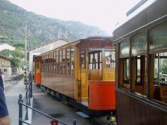 Soller : Train en bois des années 1900